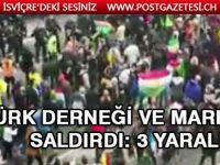 Terör örgütü yandaşları Türk derneği ve markete saldırdı: 3 yaralı