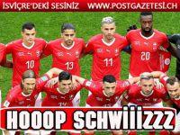 İsviçre, liderlikle EURO 2020'de