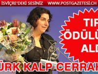 Dilek Gürsoy, Alman Tıp Ödülü'nü aldı