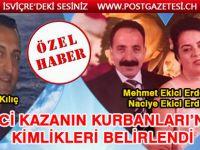 FECİ KAZANIN KURBANLARI'NIN KİMLİKLERİ BELİRLENDİ