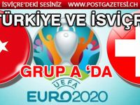 İSVİÇRE VE TÜRKİYE EURO 2020'DE GRUP A 'DA