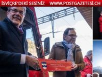 Valais Fiesch'ta  yüzyılın inşaatı bu gün  açıldı