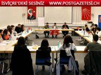 CHP'li gençler Basel'de buluştu