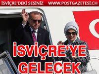 Cumhurbaşkanı Erdoğan, İsviçre'yi ziyaret edecek