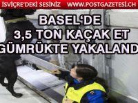 Basel'de iki restoran sahibi kaçak etler ile yakalandı