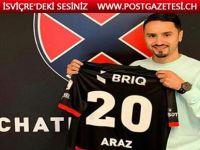 Bursaspor'dan ayrılan Musa Araz, İsviçre'de