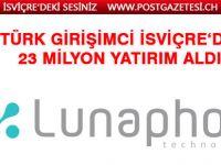 Türk girişimci tarafından İsviçre'de kurulan Lunaphore, 23 milyon dolardan fazla yatırım aldı