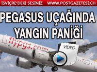 Korkutan anlar! Pegasus'un Almanya uçağında büyük panik!