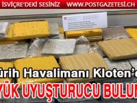 Kloten'de 80 kg Uyuşturucu bulundu