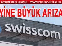 Swisscom'da yine arıza
