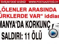 Son dakika haberi: Almanya'da iki kafeye silahlı saldırı düzenlendi! Ölenler arasında 'Türkler de var' iddiası!