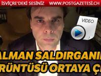 Almanya'daki saldırgandan ırkçı itiraf mektubu ve Görüntüsü