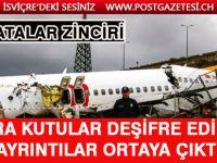 Sabiha Gökçen'deki uçak kazasında kara kutular deşifre edildi!