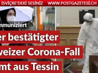 Tessiner (70) ist erster Coronavirus-Patient der Schweiz