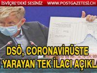 DSÖ koronavirüs için ilacı açıkladı!