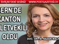 Doc. Dr . B. Nazan Walpoth Bern'de Kanton Milletvekili oldu