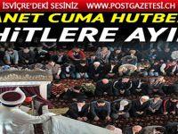 Diyanet'ten Cuma hutbesi: Hak uğruna mücadelemiz, birlik beraberlik ruhumuz