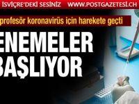 Türk profesör koronavirüs tedavi denemelerine başlıyor