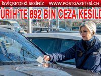 ZÜRİH'TE TRAFİK CEZALARINDAN 61,6 MİLYON CHF TOPLANDI