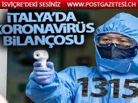 İtalya'da son 24 saatte 727 ölüm
