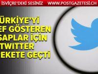Türkiye'yi hedef gösteren 7 bin 891 hesap silindi