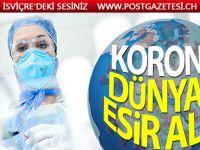 Dünya genelindeki Kovid-19 vaka sayısı 1 milyonu aştı