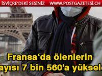Fransa'da Kovid-19 nedeniyle ölenlerin sayısı 7 bin 560'a yükseldi