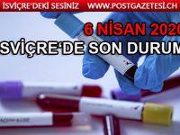 İsviçre'de bir günde 552 corona virüs vakası