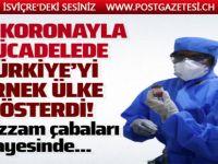 DSÖ Türkiye'yi örnek ülke gösterdi