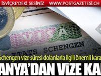 Almanya'dan flaş 'Schengen Vizesi' kararı