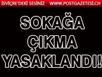 30 Büyükşehirle birlikte Zonguldak'ta il sınırları içerisinde sokağa çıkma yasağı getirildi