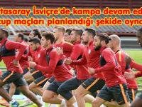 Galatasaray İsviçre'de kampa devam edecek