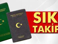 Yeşil ve gri pasaportlara sıkı takip