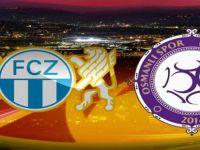 OSMANLISPOR FC ZÜRİH KARŞISINDA