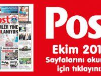 POST Gazetesi Ekim 2016 Sayfaları
