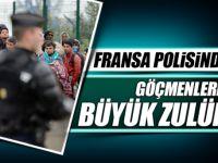PARİS'TE POLİS ZULMÜ