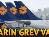 Lufthansa pilotları yarın grev yapacak