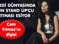 SAHNELERİN KADIN STAND UP'ÇISI GÜLGÖKÇE KORKMAZ