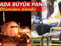 Gurbetçi yolcunun kalbi durunca uçak acil iniş yaptı