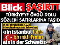 """""""İSTANBULDA İSVİÇRE'DEN DAHA SERBEST YAŞIYORUM!"""""""
