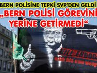POLİSE TEPKİ SVP'DEN GELDİ