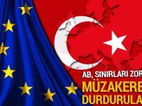 Türkiye ile müzakerelerin durdurulması AB'nin gündeminde