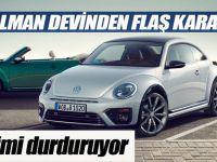 Volkswagen Beetle ve Scirocco'nun üretimini durduruyor!
