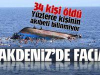 Akdeniz'den facia! 34 ölü var