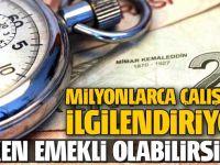 ERKEN EMEKLİ'LİK İÇİN 5  FORMUL