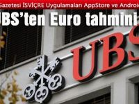 UBS'ten Euro tahmini