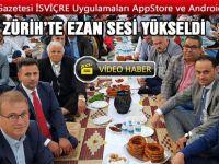 ZÜRİH'TE AÇIK HAVA İFTAR SOFRASI KURULDU