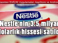 İsviçreli çikolatacıdan büyük satış!