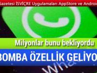 WhatsApp'tan ikisi bir arada özelliği geliyor