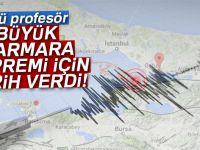 Büyük Marmara depremi için tarih verdi!